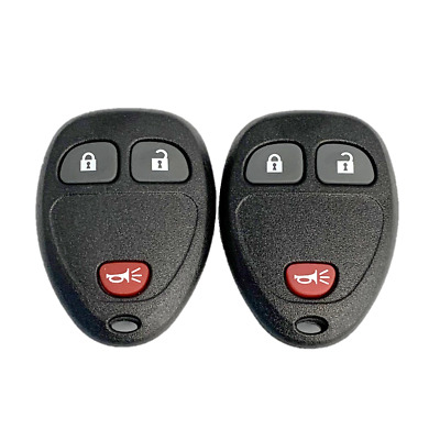 2 New Replacement Keyless Remote Key Fobs 4 Button OUC60221 OUC60270 15913420