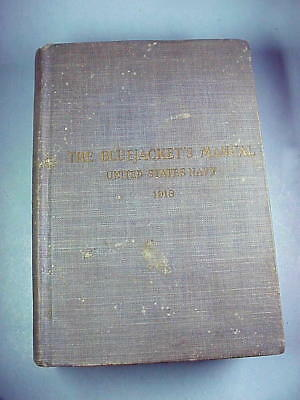 Blue Jackets Manual, 1918, very good to fine condition