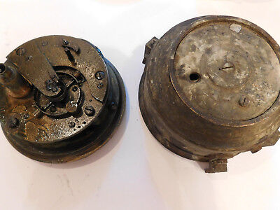 Antique Fusee Detent Marine Chronometer Movement. By Thos Russell,  London