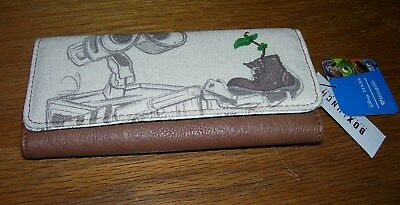 Loungefly Pixar Wall-E Boot Trifold Wallet New with Tags Boxlunch Walle