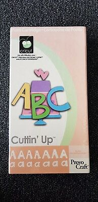 Provo Craft Cricut font cartridge - Cuttin' Up for scrapbooking, cards