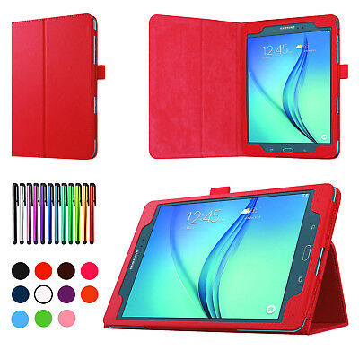 "For Samsung Galaxy Tab A A6 7"" 8"" 9.7 10.1"" Tablet Flip Leather Stand Cover Case"