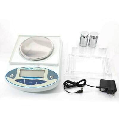3000 x 0.01g Portable Electronic Lab Analytical Balance Digital Precision Scale