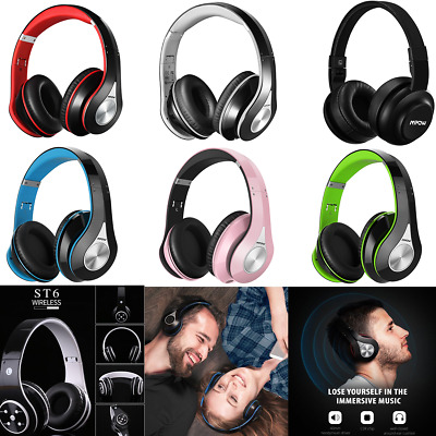 Mpow Wireless Bluetooth Foldable Headset Headphone Sport Earphone for Cellphone