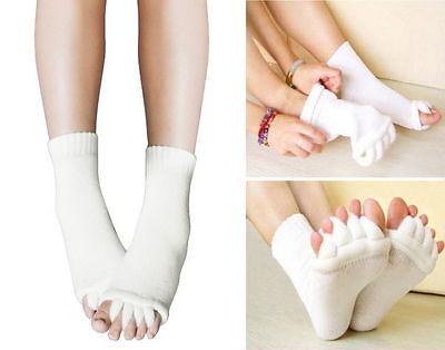 Comfy Toes Foot Alignment Socks Relief for bunions hammer toes cramps happy feet