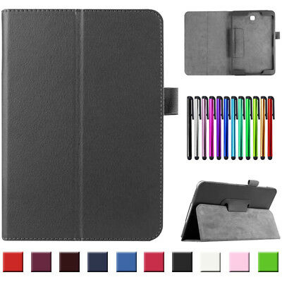 """Folding Leather Stand Cover Case For Samsung Galaxy Tab S S2 S3 8""""-10.5"""" Tablet"""