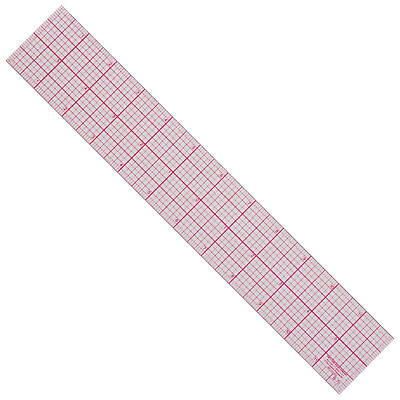 "C-Thru 12"" Graph Ruler Transparent Plastic 1/8"" Calibration Inside 1/16"" On Edge"