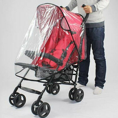 Stroller Rain Cover Baby Carriage Pram Raincoat For Umbrella Stroller Accessory