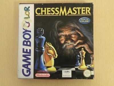 Nintendo Game Boy Colour Game Box * CHESS MASTER * Box ONLY Game Boy 26801
