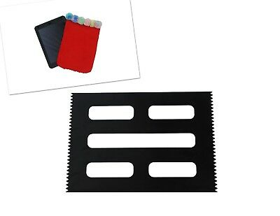 Weaving Loom Board Frame, BLACK A4 Size, 295 x 210mm. Make Tablet Cover. S7802