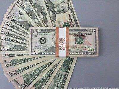 $50s - Best Stack For Film, Movies, TV, Videos Play Stage Fake Prop Money
