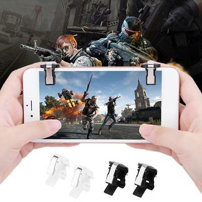 S4 L1R1 Gaming Trigger Mobile Phone Fire Button Handle Controller Aimkey Shooter