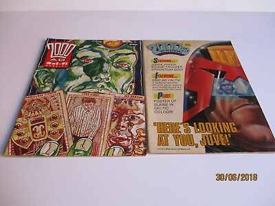 2000AD Sci-Fi Specials x 2 - Issues from 1986 & 2002