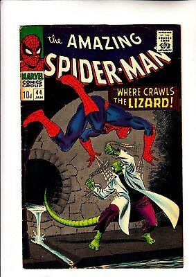 Amazing Spider-Man 44 2nd app of The Lizard