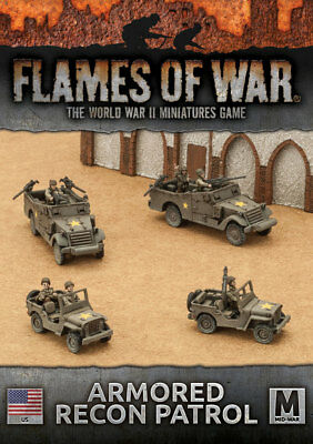 Flames of War: Fighting First - Armored Recon Patrol