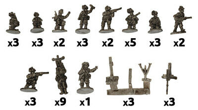 Flames of War: Bersaglieri MG & Mortar Platoons