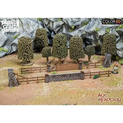 ColorED Scenery: Old Shire Fences