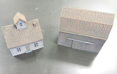 Flames of War: Farm House & Barn - Reims