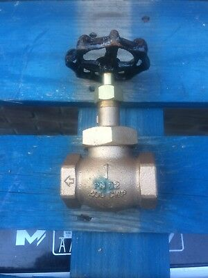 "Brand New Industrial Steam Globe Valve 1"" BSP PN32 Rated (400CWP)"