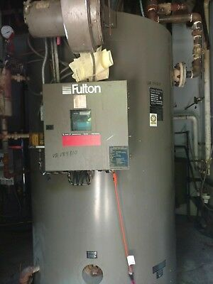 Fulton VMP 60 HP Steam Boiler 2011 Model