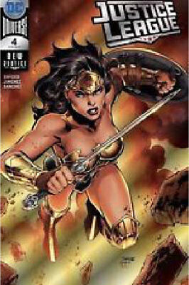 2018 SDCC DC exclusive Justice League #4 Jim Lee Silver Foil Wonder Woman