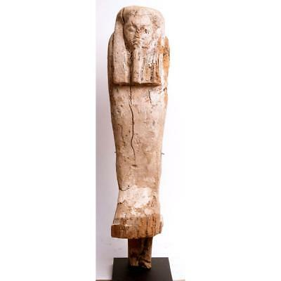 Ancient Egyptian Wood Ptah Sokar Osiris figure c.664-332 BC.