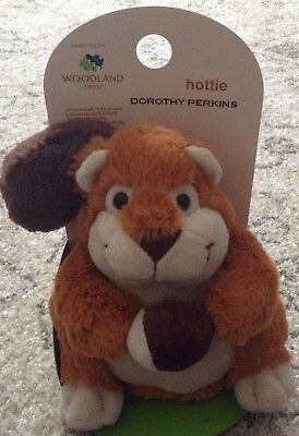 Squirrel Hottie Wheat Bag Dorothy Perkins New  Lightly Scented lavender winter