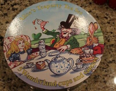 Alice in Wonderland Paul Cardew Tea Party Tea Set 150th Anniversary Edition