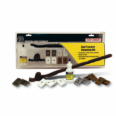 NEW Woodland Scenics Tidy Track Rail Tracker Cleaning Kit TT4550