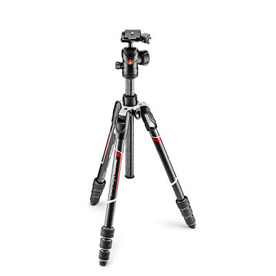 Manfrotto Befree Advanced Carbon Fiber Travel Tripod with 494 Center Ball Head,