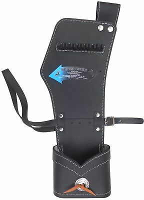 New Traditional Black Leather Side/hip Quiver Archery Products Aq-142 H R - Hand