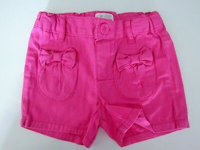 New The Children's Place Baby Toddler Girl Pink Pocket Bow Shorts
