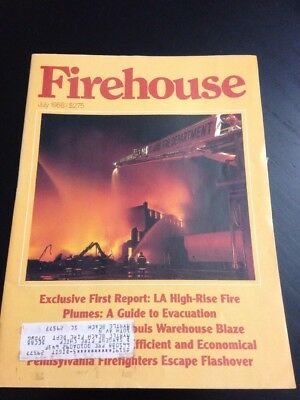 Firehouse Magazine July 1988 Exclusive First Report: La High-Rise Fire