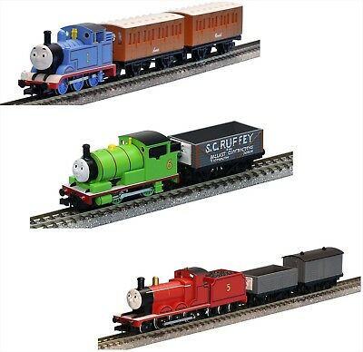 Thomas Percy James 3 Set Tomix N scale 93810 93811 93812 Free Shipping JAPAN