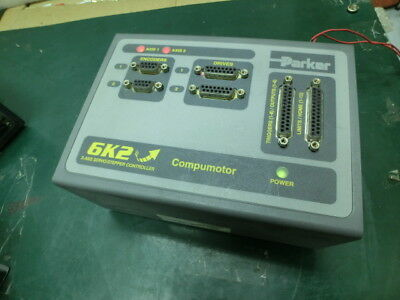 Parker Compumotor 6K2-NK 2 Axis Servo/Stepper Controller,used,USA~5717