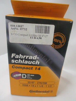 n80 Conti Tube Schlauch  Compact 24 Wide  D 40 mm  Nr.0181351-0205