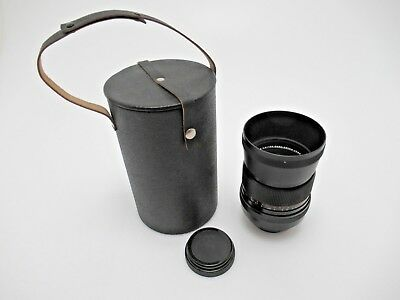 Carl Zeiss Jena MC Sonnar 180 mm F2,8 Pentacon Six 10527 back cap pe005