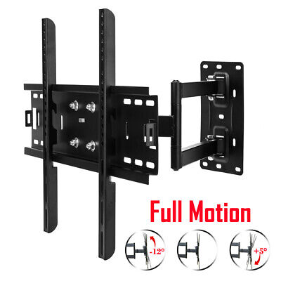 "Swing Arm Cantilever TV Bracket Wall Mount Swivel Tilt 30~60"" inch Plasma LCD 3D"