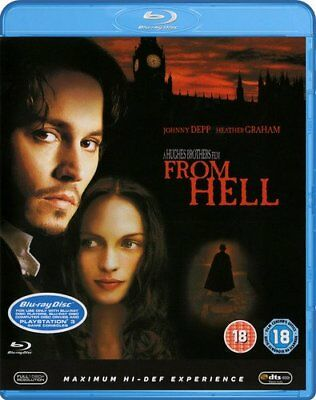 From Hell [Blu-ray] [DVD][Region 2]