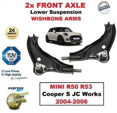 FOR MINI ONE COOPER S WORKS D 2001-2006 FRONT AXLE LEFT WISHBONE ARM
