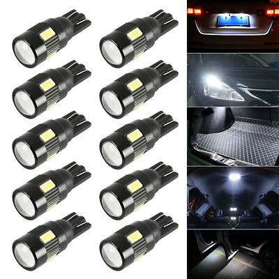 10x T10 501 W5W 6 SMD ERROR FREE CANBUS CAR LED BULBS SIDE LIGHT BULB LAMPS A701