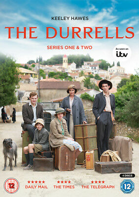 The Durrells: Series One & Two DVD (2017) Keeley Hawes cert 12 4 discs