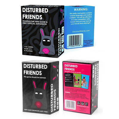 Disturbed Friends Board Game The Party Game Should be Banned Family Card Game