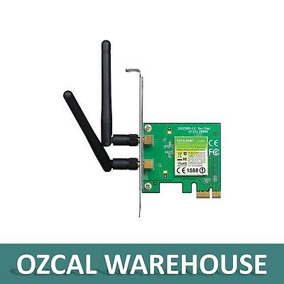 TP-LINK TL-WN881ND 300Mbps Wireless N PCI Express AdapterAtheros 2T2R 2 Detachab