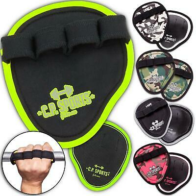 Giffpolster Grip Pads Palmgrip Griffhilfe Zughilfe Fitness + Bodybuilding Pad