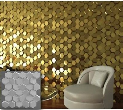 Business & Industrial *crag* 3d Decorative Wall Panels 1 Pcs Abs Plastic Mold For Plaster Light Equipment & Tools