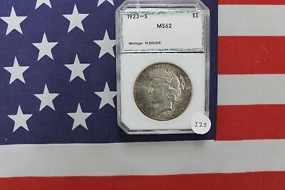 1923-S Peace Silver Dollar - BU Brilliant Uncirculated (S20)