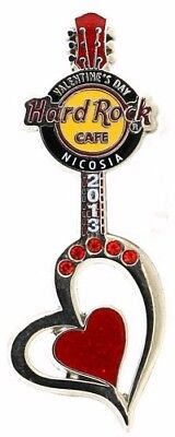 Hard Rock Cafe Nicosia Valentine Heart Pin