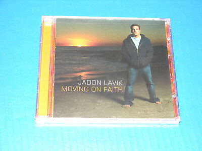 Moving on Faith by Jadon Lavik (CD, Jun-2004, BEC Recordings) NEW AND SEALED