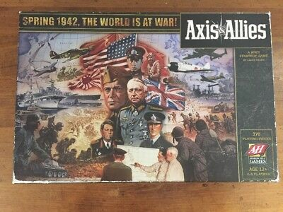 Axis & Allies 2009 Edition Spring 1942, The World Is At War! Complete Excellent